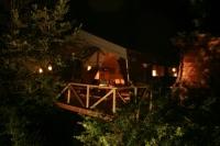 Tente safari au glamping La Douce France à Clermont Pouyguillès Midi-Pyrénées