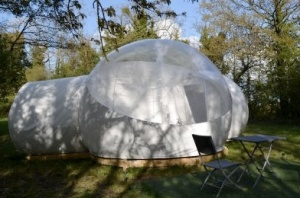 Bubble Star au glamping Domaine Les Vaulx à La Baconnière Pays de la Loire