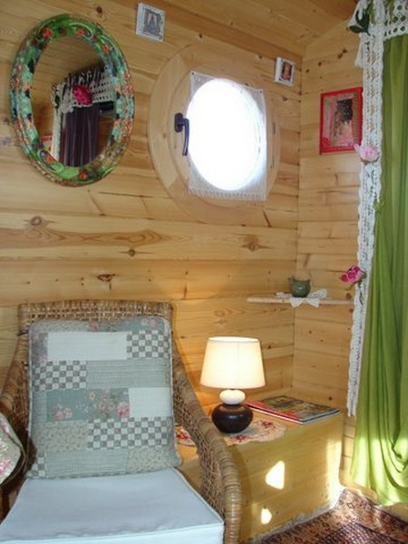 Coin Salon Glamping En France