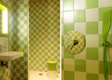 Cabane salle de bain au glamping Cabanes de Salagnac à Meyrignac l'Eglise en Limousin