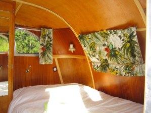 Airstream Spartan Manor coin chambre au glamping Belrepayre Airstream & Retro trailer Park à Manses en Midi-Pyrénées