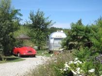 Airstream Studio 54 au glamping Belrepayre Airstream & Retro trailer Park à Manses en Midi-Pyrénées