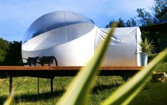 Bulle au glamping Noct'en bulle à Cabrerets en Midi-Pyrénées