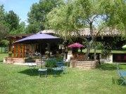 Bar à vins bistrot au Glamping Camping Pré Fixe à Cassabagnere-Tournas en Midi-Pyrénées