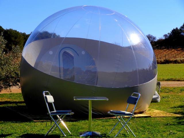 Glamping en france le confort et l 39 atypisme - Tente bulle transparente achat ...