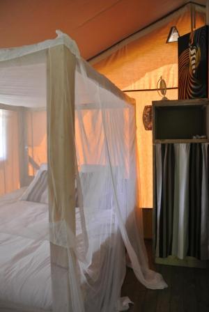 Chambre double - Le Lodge au glamping Lo Rey du Lac à Hossegor en Aquitaine