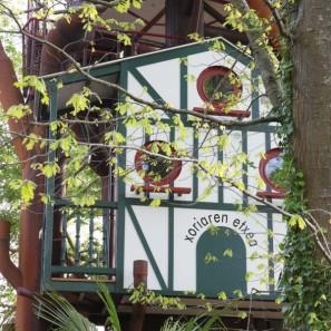 Le Nichoir à 4,20 mètres au glamping Les Nids d'Hôtes à Cambo-les-Bains en Aquitaine