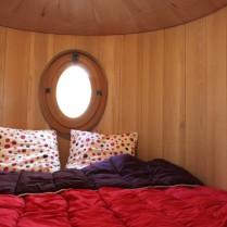 Le Nichoir espace nuit au glamping Les Nids d'Hôtes à Cambo-les-Bains en Aquitaine