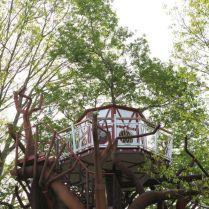 Le pigeonnier à 9 mètres au glamping Les Nids d'Hôtes à Cambo-les-Bains en Aquitaine